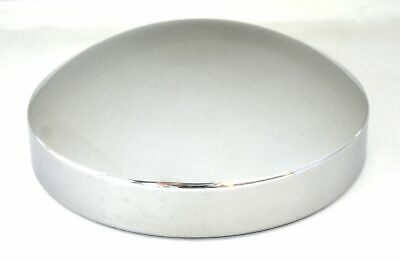 hub cap rear 8 I.D. standard stainless steel for Peterbilt Kenworth Freightliner