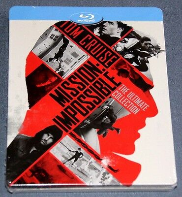 MISION IMPOSIBLE 1-5  Bluray Blu ray MISSION IMPOSSIBLE The Ultimate Collection