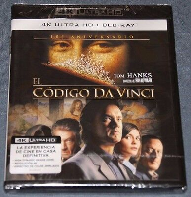 EL CODIGO DA VINCI - Bluray Blu ray  - 4K UHD - ULTRA HD Tom Hanks Da Vinci Code