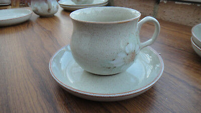 1 Denby Stoneware Daybreak cup and saucer