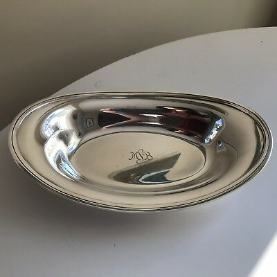 Tiffany & Co. Sterling Silver(.925) Oval Plater/Tray Vintage/Authentic 379 Grams