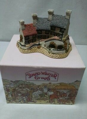 David Winter Cottages - Minors Row - Original Box