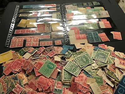 Mixed Revenue Lot of 2,000+ US Stamps