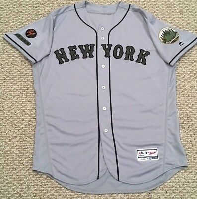 2d9dcbe00 Blank back size 50 2018 New York Mets road MEMORIAL DAY game jersey MLB  HOLOGRAM