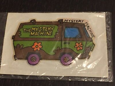 Scooby-Doo Mystery Machine Puffy Cartoon Sticker 1980's New In Package
