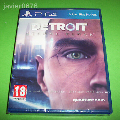 Detroit Become Human Nuevo Y Precintado Pal España Playstation 4 Ps4