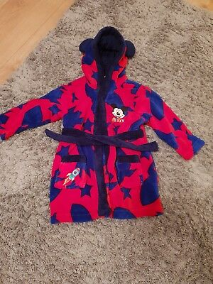 Mickey Mouse Soft Dressing Gown 12-18m