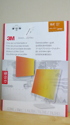 "3M Gpf19.0 Gold Privacy Filter 19"" Standard Filter"