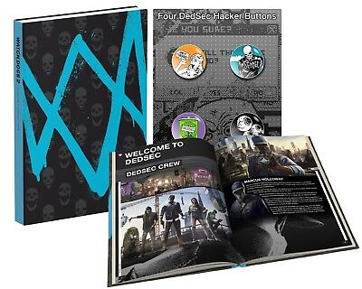 Prima Guides Watch Dogs 2 Collectors Edition Guide (Hardcover)