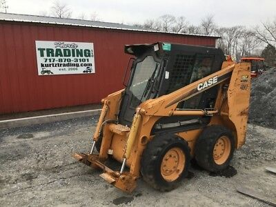 2007 Case 410 Skid Steer Loader w/ Cab NEEDS REPAIR Only 1600Hrs!!