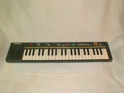 Vintage CASIO Casiotone MT-55 Electronic Synthesizer Keyboard Tested
