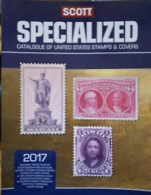 2017 SCOTT US UNITED STATES SPECIALIZED CATALOGUE STAMPS & UN New Condition