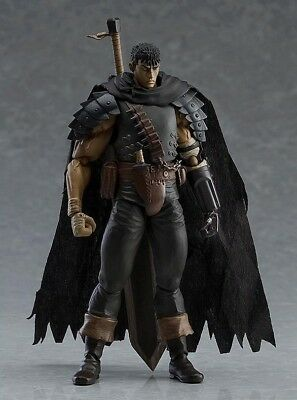 Berserk Beruseruku Figma Black Swordman Action Figures Mode Toys 17cm