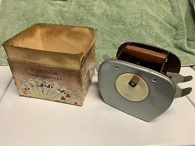 Vintage Nestor Johnson Card Shuffler Model 50