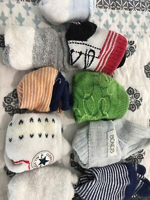 Baby Boys Socks 0-6 Months Inc Bonds / Converse