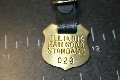 Illinois Railroad Standard Watch Fob