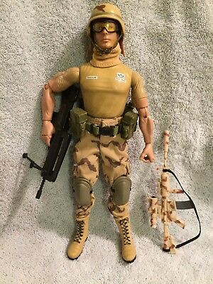"GI Joe 12"" 12 Inch Dusty Desert Soldier Custom Kitbash Real American Hero"