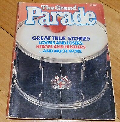 The Grand Parade Magazine . Vintage . Collectable