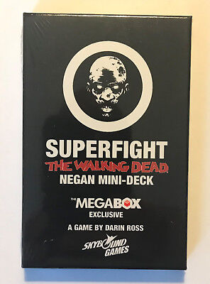 Skybound Megabox 1 Exclusive Negan Superfight Mini-Deck  Unopened New