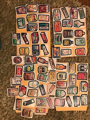 vintage wacky package stickers 1975-1977