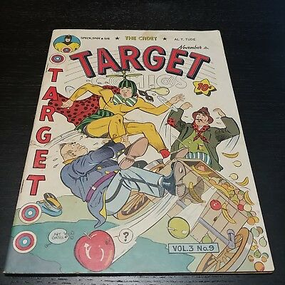 Target Comics V3 #9 (11/42) (Spacehawk by Wolverton)