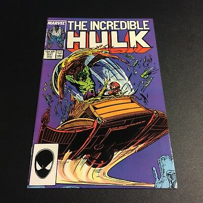 INCREDIBLE HULK #331 1987 VF/NM 9.0 McFarlane art Copper Age Age Marvel Comics