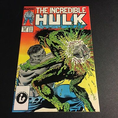 INCREDIBLE HULK #334 1987 NM 9.4 McFarlane art Copper Age Age Marvel Comics
