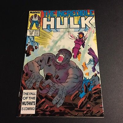 INCREDIBLE HULK #338 1987 NM 9.4 McFarlane art Copper Age Age Marvel Comics