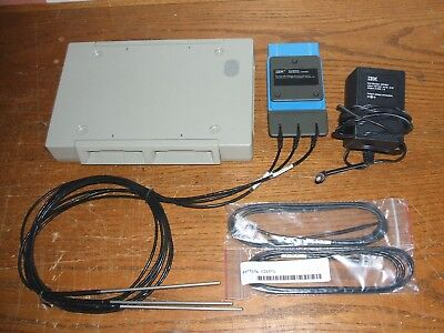 IBM Personal Science Laboratory TLp Module + Base Unit 57F7923 Probes AC Adapter