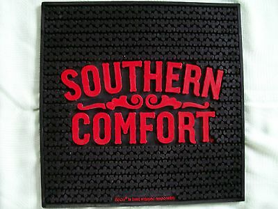 """New!  Lot Of Two (2) """"southern Comfort"""" Rubber Bar Mats - 16 3/4"""" X 16 3/4"""""""