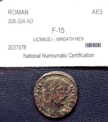 Emperor Licinius I-  308 AD to 324AD Rare Roman Ancient coin