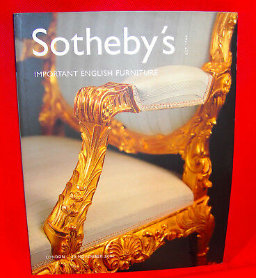 Sotheby's London 2402 Important English Furniture - Princess Diana's Family Home