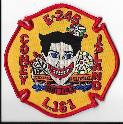 New York City Fire Department (FDNY) Engine 245/Ladder 161 Patch