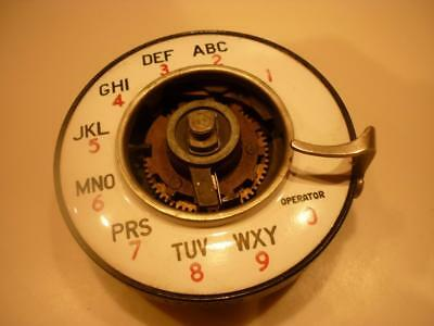 Rare Western Electric Number 2 Dial with Notchless Number Plate
