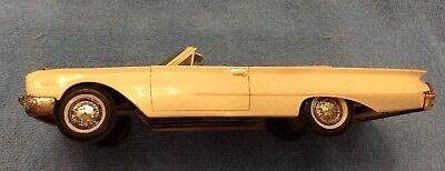 1960 AMT Ford Starliner Convertible Friction Drive Screw Bottom Dealer Promo Car