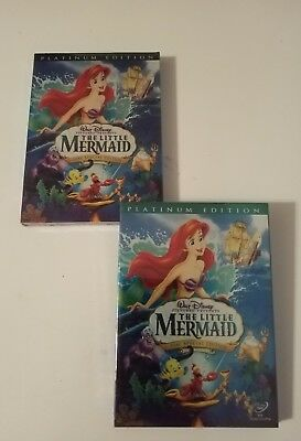The Little Mermaid (DVD, 2006, 2-Disc Platinum Edition) (The Maiden of the Sea)