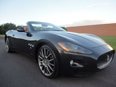 2012 Maserati Gran Turismo MASERATI GRAN TURISMO CONVERTIBLE 2012 MASERATI GRAN TURISMO CONVERTIBLE RWD AUTO 4.7L V8 CLEAN CARFAX WE FINANCE