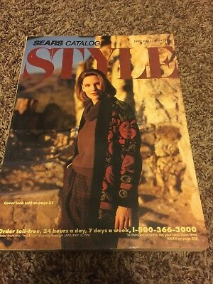 Sears Style catalog fall/winter 1990