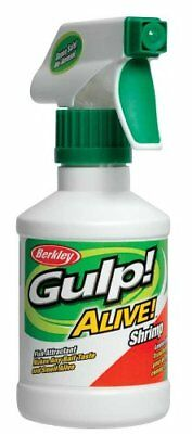 Berkley Gulp! Alive! Fish Attractant 8 oz. Bottle Spray Shrimp Crevette Scent
