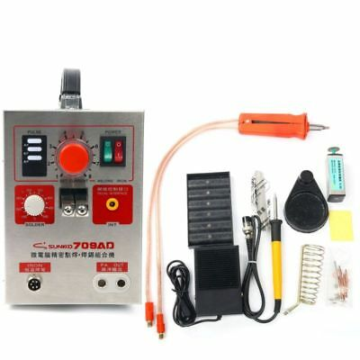 SUNKKO 15KVA Pulse Spot Welder 709AD Battery Welding Soldering Machine 110V