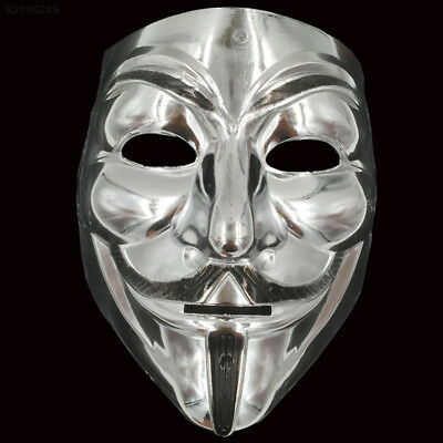 5DE5 New V Vendetta Mask Anonymous Halloween Costumes Party Supplies Hot-Sale