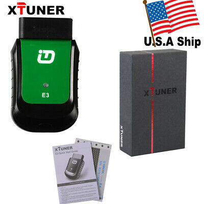 USA Ship XTUNER E3 WIFI Full System OBD2 Diagnostic Code Scanner Multi-Languages