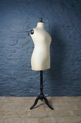 Vintage French Haberdashery Mannequin Size 50 ~ Tailors Dummy ~ Shop Display