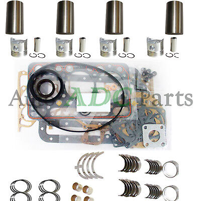 V3307 OVERHAUL REBUILD Kit for Kubota Engine Bobcat S630 T650 S65 Loader  Tractor