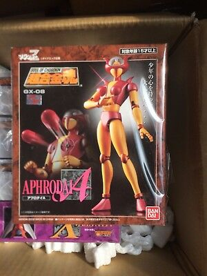 Gx-08 Bandai Soul Of Chogokin Aphrodite Afrodite Mazinger Mint In Sealed Box