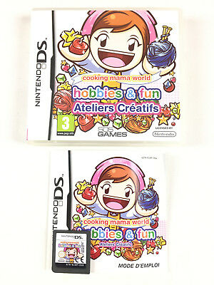 cooking mama world hobbies y manualidades para nds
