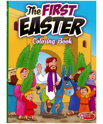The First Easter Colouring Book