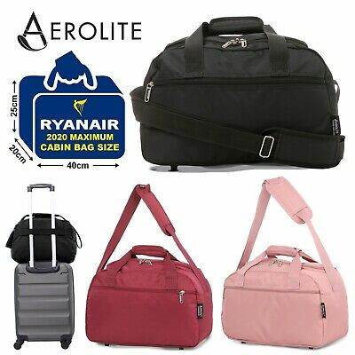 Aerolite Small 35x20x20 Ryanair Approved Cabin Allowance Hand Luggage Flight Bag