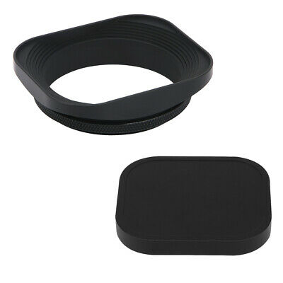 Haoge 55mm Square Metal Lens hood for Mitakon 35mm f0.95 f/0.95 Mark II MKII