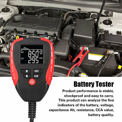 AE310 12V Car Battery Load Tester Battery Resistance Test Analyzer Testing Tool
